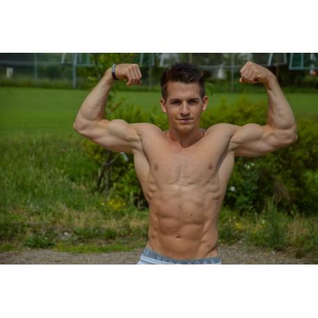 Sportbenzin Martin Blättler Muskelaufbau