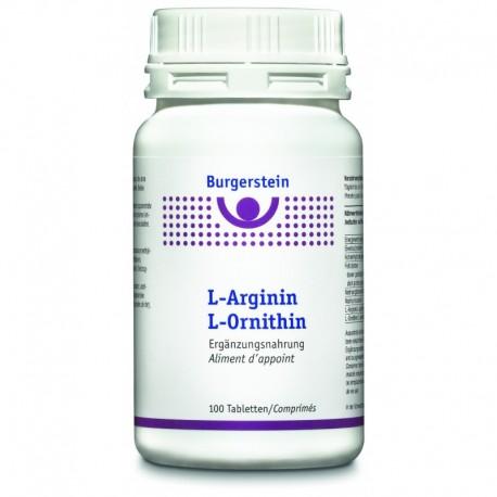 Burgerstein L-Arginin L-Ornithin