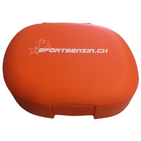 Sportbenzin Pillenbox