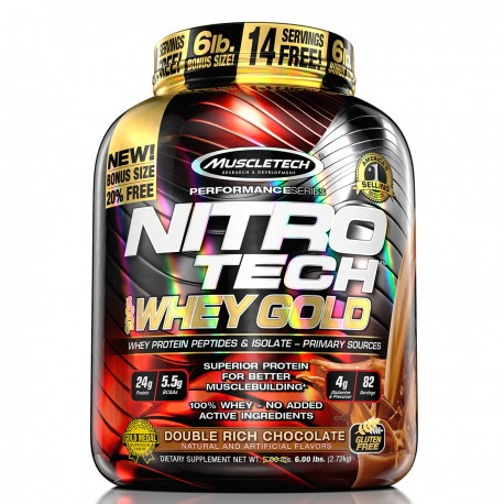 MuscleTech Nitro Tech 100% Whey Gold