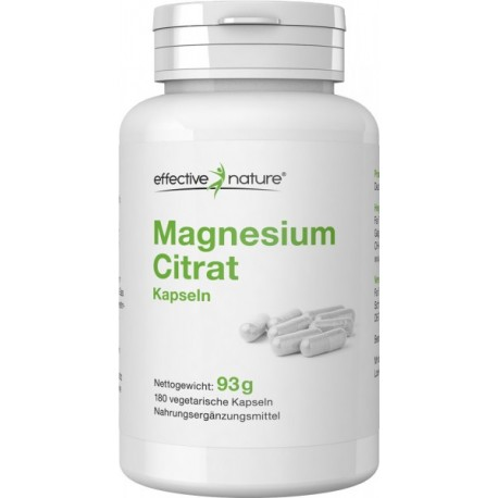 Effective Nature Magnesium Citrat
