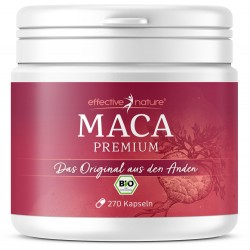 Effective Nature Premium Maca Kapseln