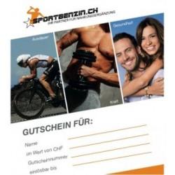 Sportbenzin Geschenkgutschein CHF 50.00