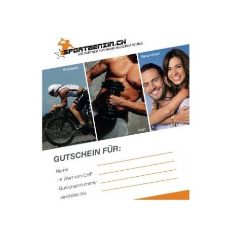 Sportbenzin Geschenkgutschein CHF 100.00