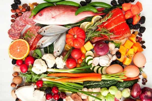 Gesunde Ernährung - Lebensmittel