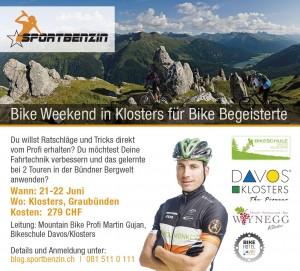 Bike Weekend Flyer