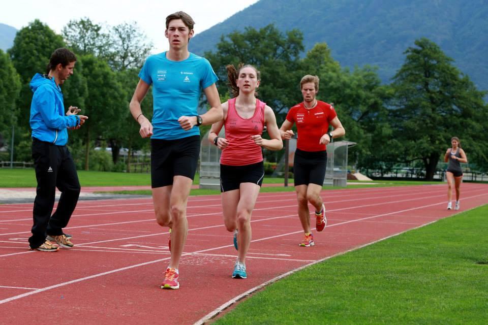 Feldtest Langläufer 4x1000m
