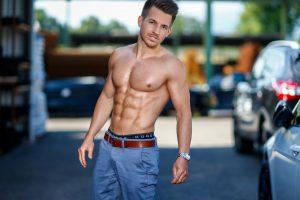 Kraft und Fitness Sportnahrung