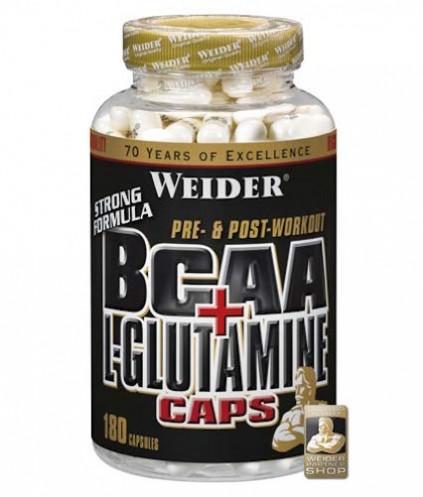 Weider BCAA und L-Glutamin