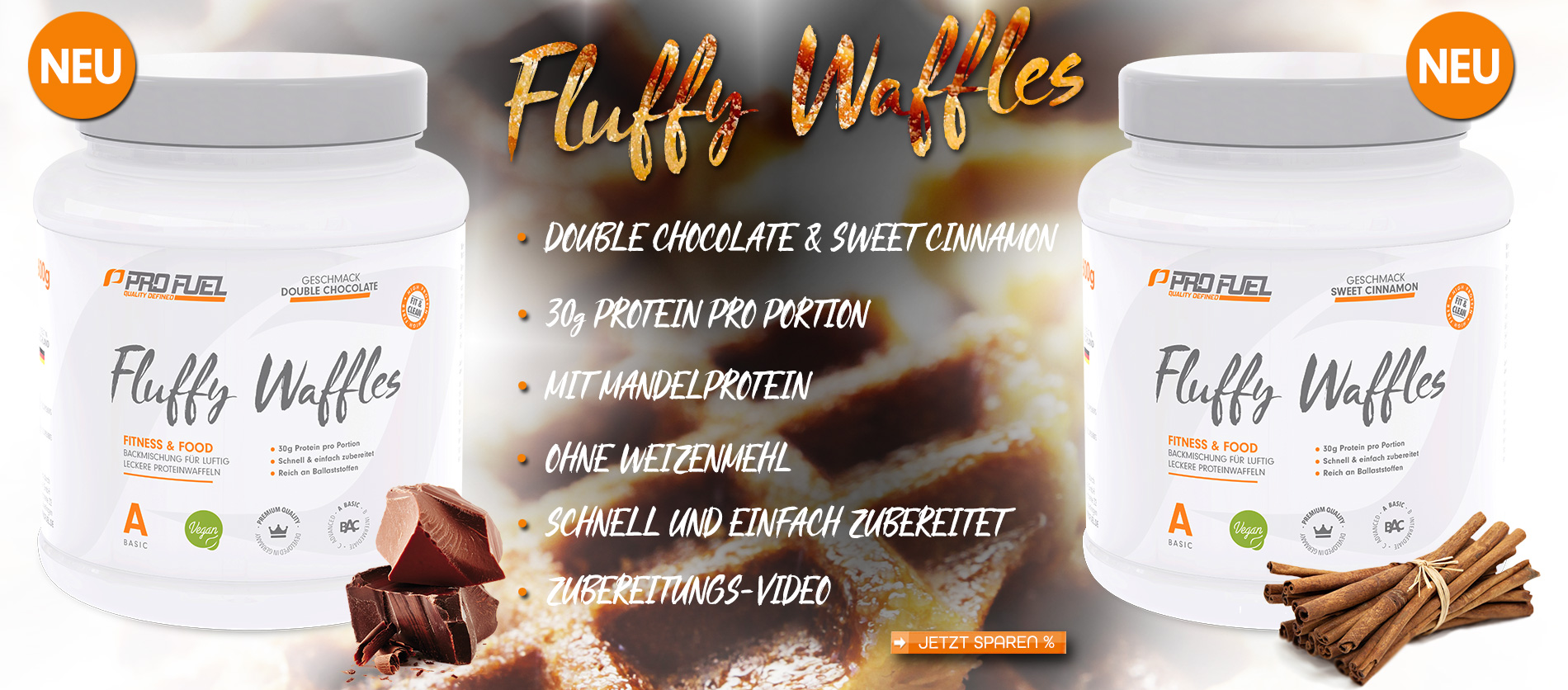 Profuel Protein Waffles