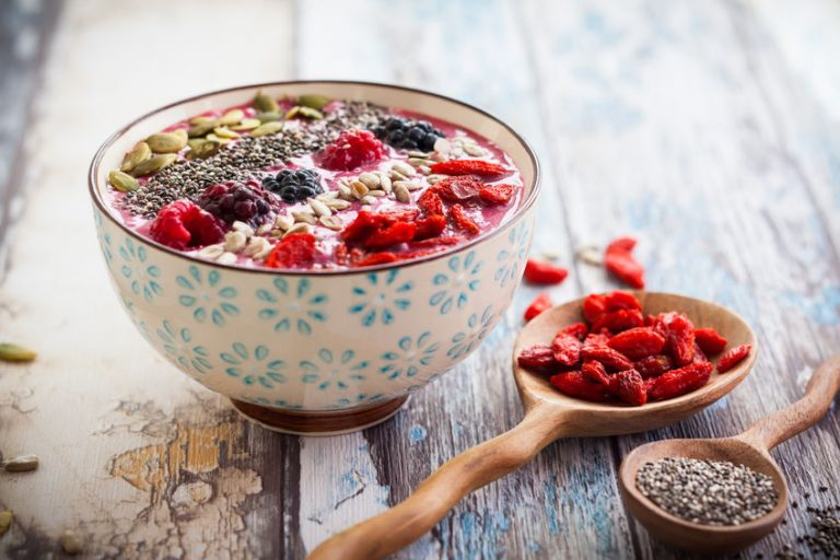 gesunde Ernährung superfoods