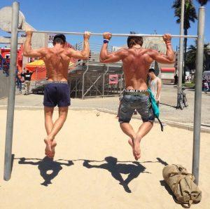 Bodyweight Training - Trainieren am Strand